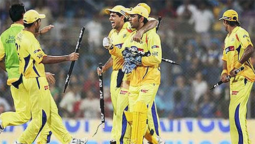Chennai Super Kings Win the DLF IPL 2010! - I News India ...