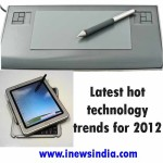 Latest hot technology trends for 2012