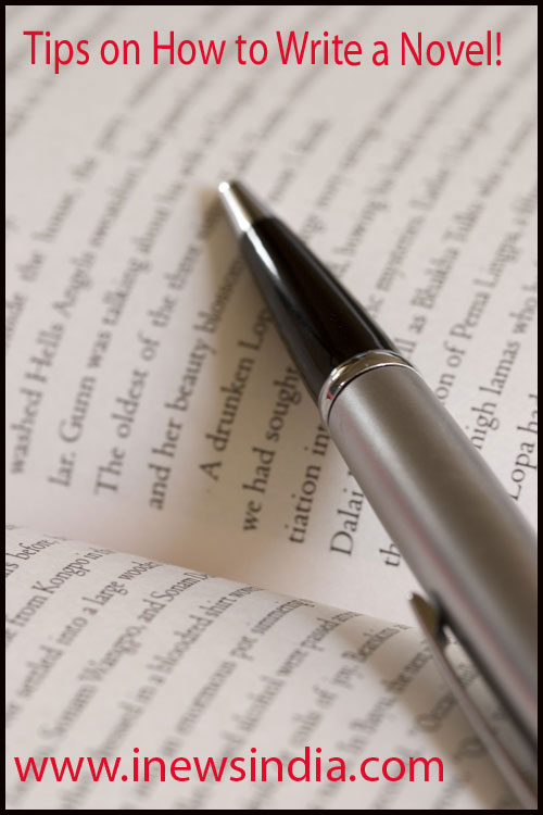 Tips on how to write a novel