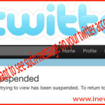 Some Tweets Which Can Cause Suspension For you in Twitter!