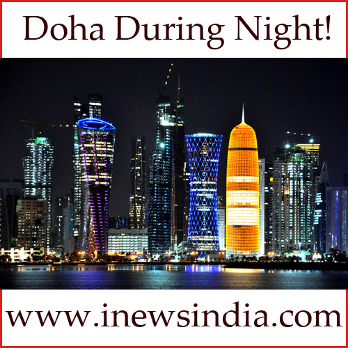 Doha Night View