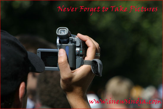 Never Forget to Take Pictures