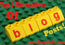 Top 3 Alternatives of Blog Posts!