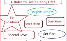 6 Rules to Live a Happy Life!