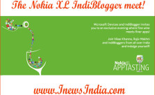 The Nokia XL IndiBlogger meet!