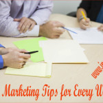 Online Marketing Tips for Every Website!