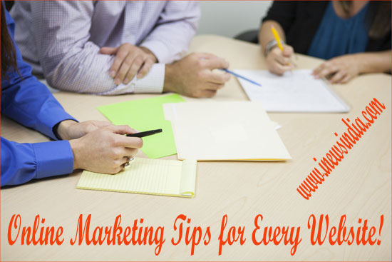 Online Marketing Tips for Every Website