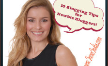 10 Blogging Tips for Newbie Bloggers!