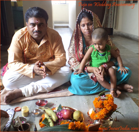 Our th marriage anniversary and a special gift by