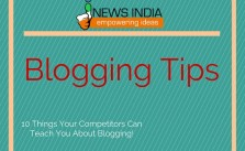10 Things Your Competitors Can Teach You About Blogging!