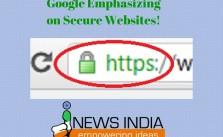 Google Emphasizing on Secure Websites!