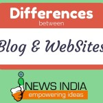 5 Differences between a Blog and Website!