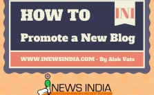 How to Promote a New Blog!