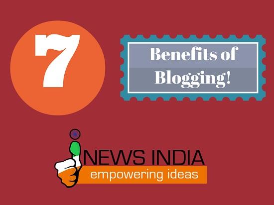 7 Benefits of Blogging