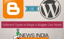 Different Types of Blogs a Blogger Can Have!