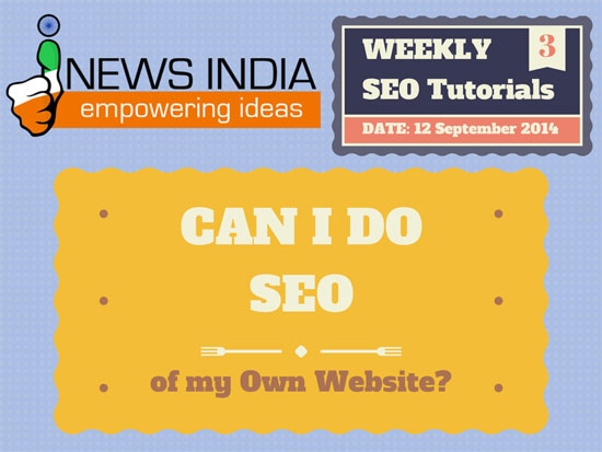 Can I do SEO of my Own Website?
