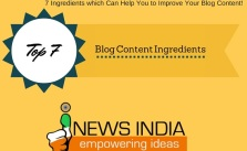7 Ingredients which Can Help You to Improve Your Blog Content!