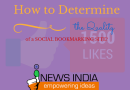 How to Determine the Quality of a Social Bookmarking Site?