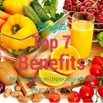 Top 7 Benefits by Consuming an Unprocessed Food!