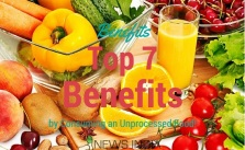 Benefits of Unprocessed Foods