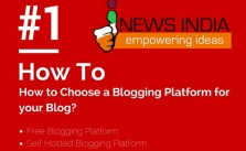 How to Choose a Blogging Platform for your Blog?
