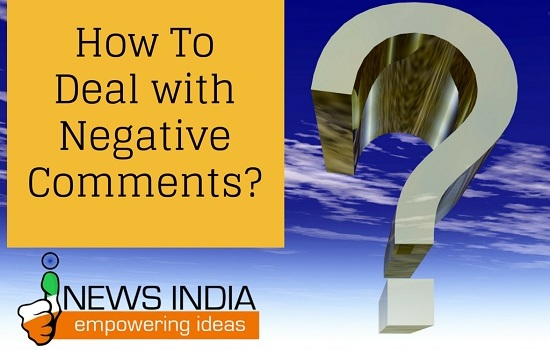 How to Deal with Negative Comments on your Blog?
