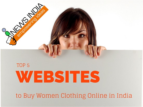 Top 5 Websites to Buy Women Clothing Online in India