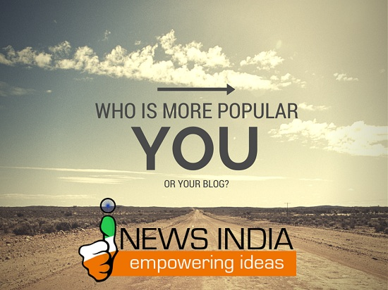 Who is More Popular - Your or Your Blog?