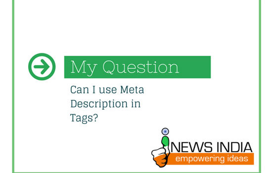Can I use Meta Description in Tags?