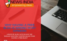 Why Having a Free Blog is Wrong?
