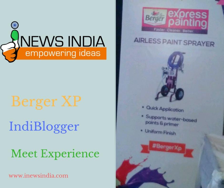 BergerXP IndiBlogger Meet