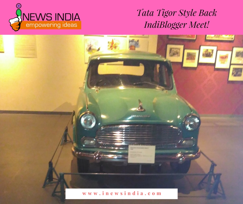 Tata Tigor #StyleBack IndiBlogger Meet