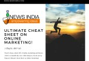 Ultimate Cheat Sheet on Online Marketing!